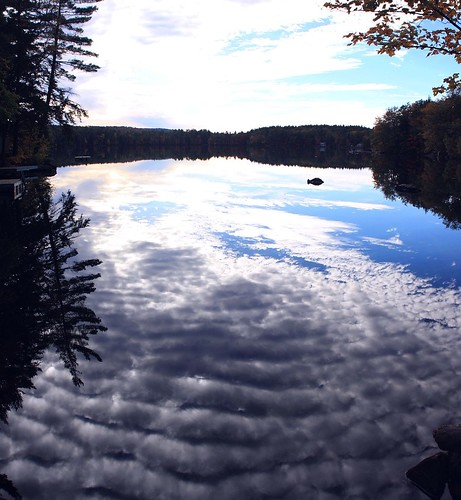 2013_1011Pond-Reflections-Pano0001 by maineman152 (Lou)