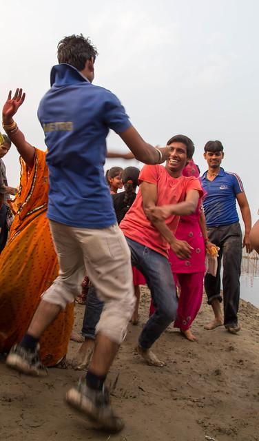 Dura Puja on the Yamuna-18