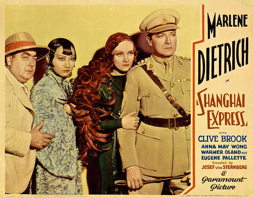 Shanghai Express (Paramount, 1932). Lobby Card (11