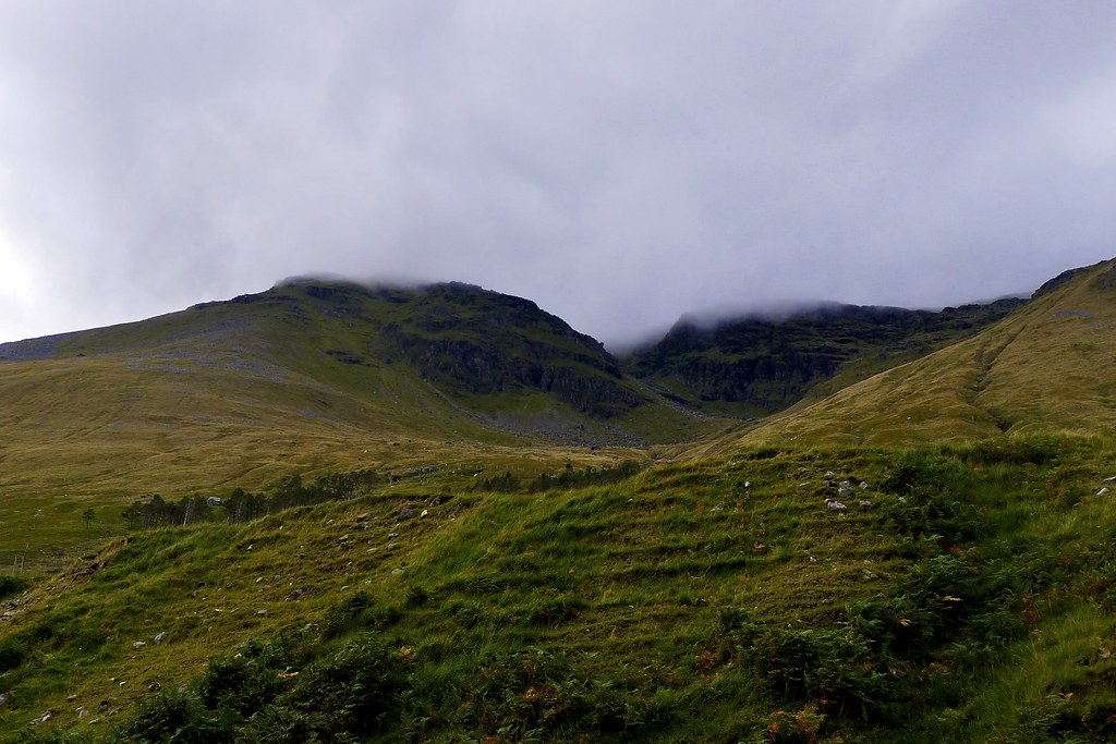 Misty crags of Beinn Dorain