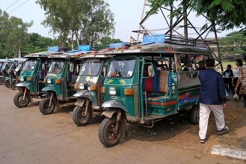 Laos - Vientiane - Tuk Tuk - 1