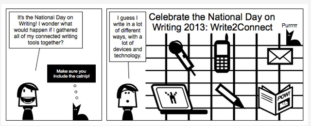 National Day on Writing 2013 Comic