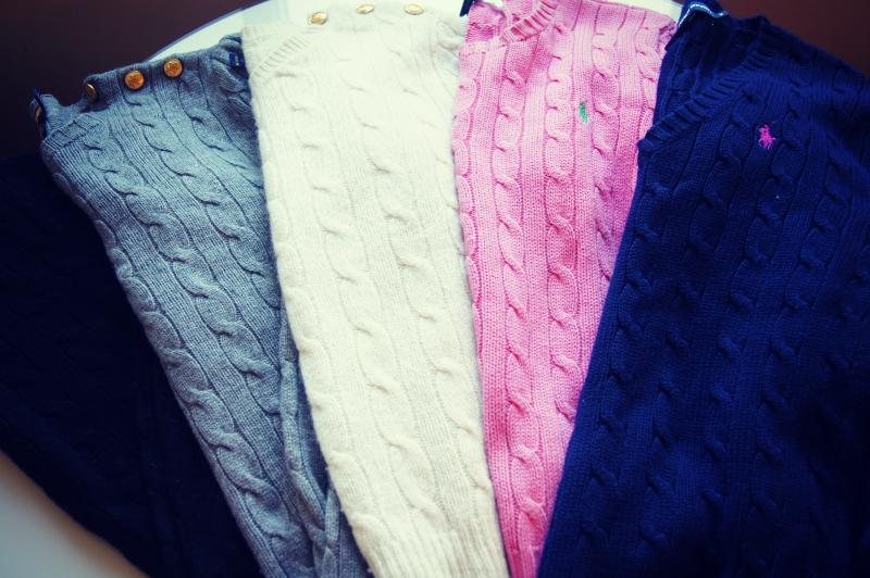 Ralph Lauren Cableknit Sweaters