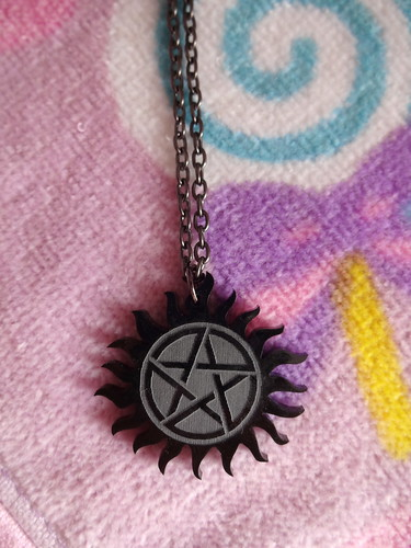 Supernatural necklace