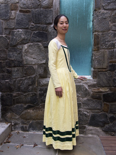 Yellow Kirtle with Sleeves