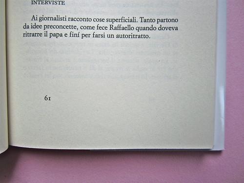 Alfabeto Poli, a cura di Luca Scarlini. Einaudi 2013. [resp. graf. e iconograf. non indicata]. Fotog. di cop.: ritr. b/n di P. Poli di G. Harari. Pag. 61 (part.), 1