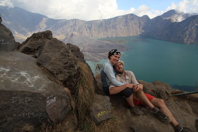 Crater rim, Gunung Rinjani, Lombok