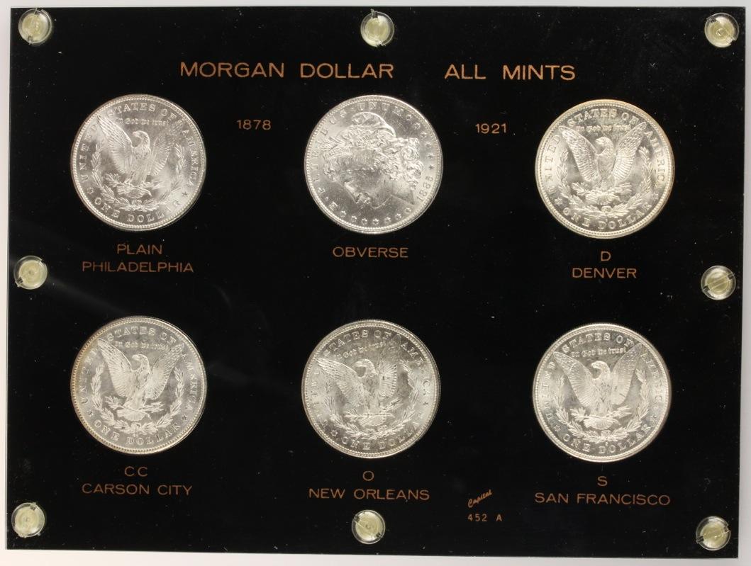 Colección de Dolares Morgan - Todas las cecas 10743182005_8f74d0453c_o