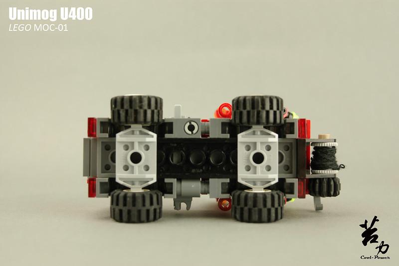 Lego Unimog U400-0018