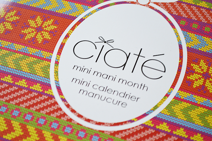 Ciaté advent calendar 1