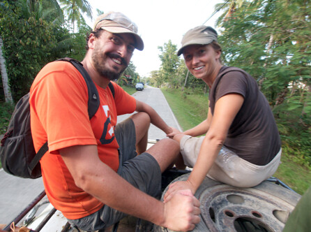 Rob and Agnes - The Honeymoon Volunteers