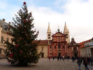 Árbol de Navidad en Praga