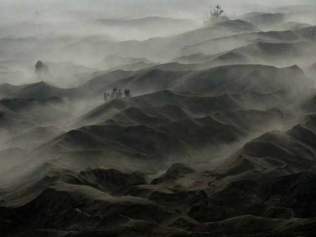 sea of sand mount bromo