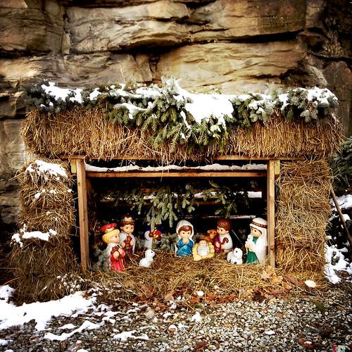 Junior sized nativity.