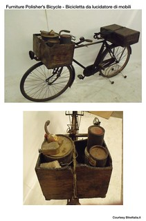 Cargo Bike History: The Furniture Polisher's Bicycle