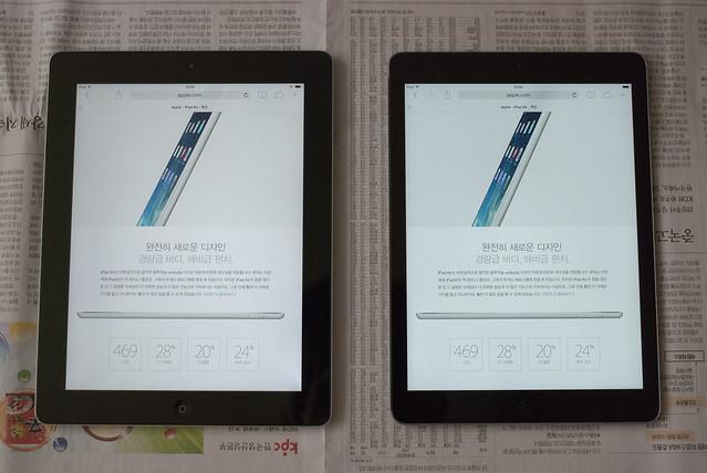 iPad 3rd Gen. & Air