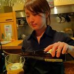 ベルギービール大好き!!ウェストマール・トリプル Westmalle Triple @天満橋ドルフィンズ