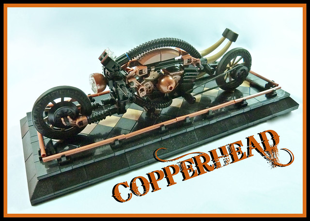 Copperhead Steampunk Bike