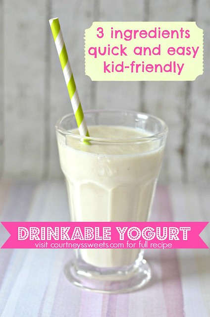 Homemade Drinkable Yogurt Recipe | FPIES + Kid Friendly