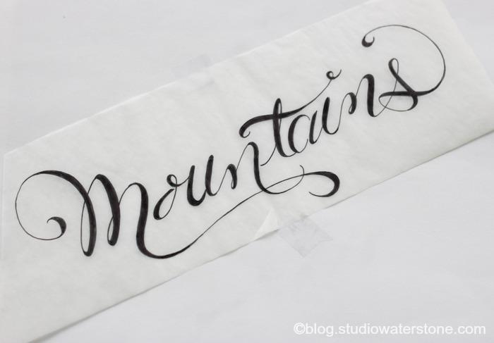 learn: modern calligraphy