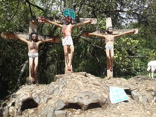 Crucifixion Sculptures, Kitale