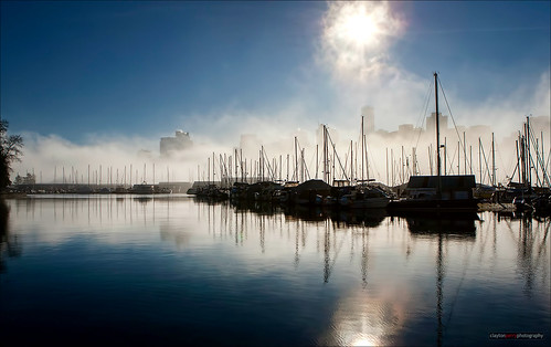 Fog Over Coal Harbour