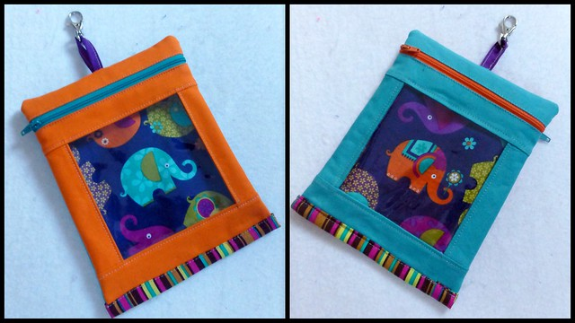 See through Anything Pouch