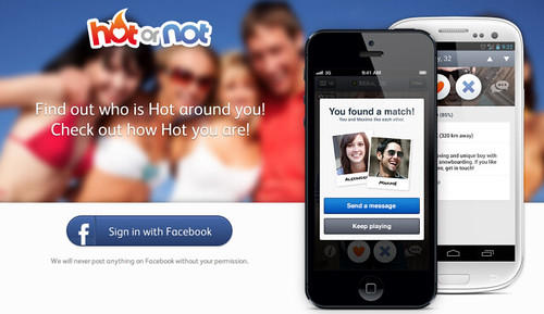 hotornot hot or not app