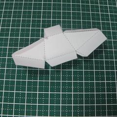 วิธีทำของเล่นโมเดลกระดาษรูปนก (Bird Paper craft ) 015