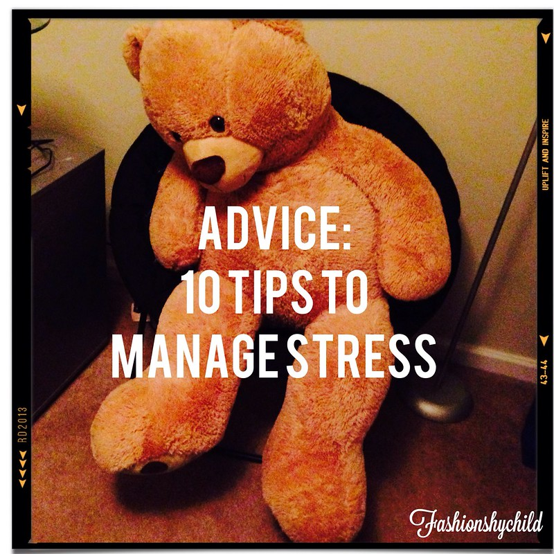 10 Tips To Manage Stress