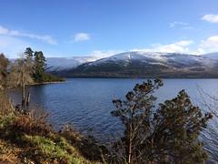Snow on the hills around Clunes
