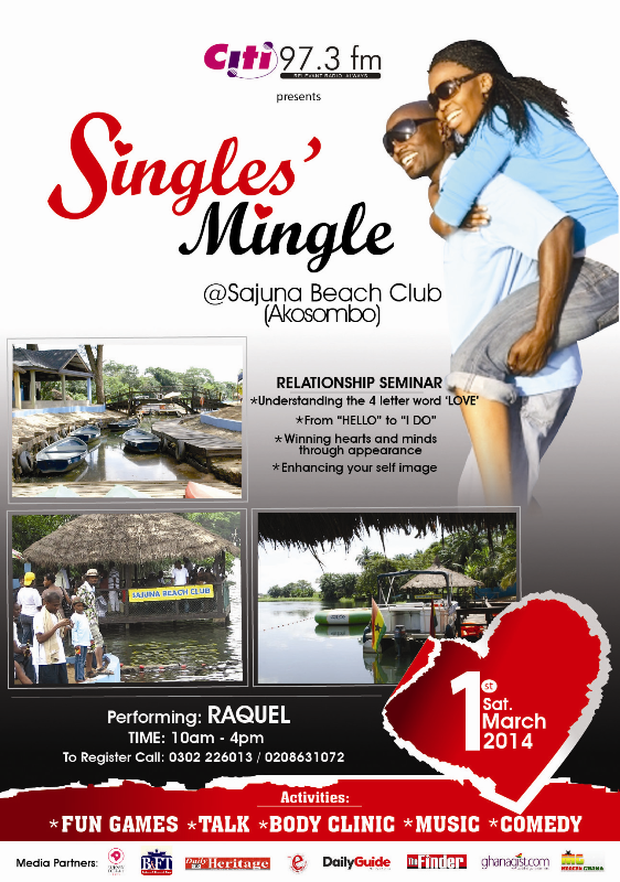 Singles Mingle Flyer