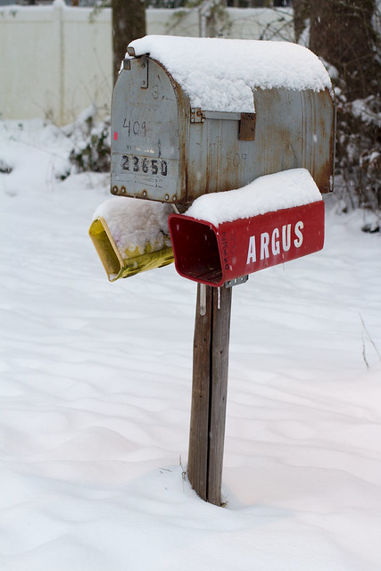 Photogenic Mailbox in snow