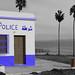 Station de Police sur la plage by hans pohl