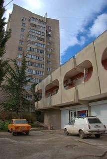 Электромобиль ВАЗ-2801 и соварх Алушты