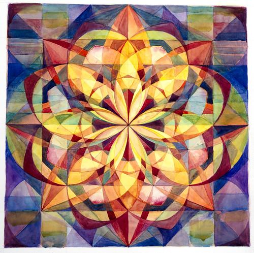 Unfolding Lotus Mandala