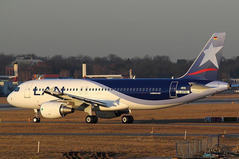 LAN Chile - A320 - D-AVVZ