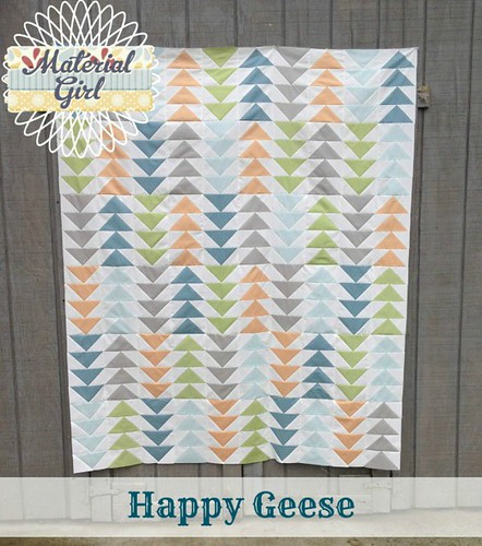 Happy Geese pattern cover