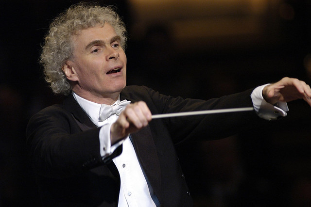 Simon Rattle © Peter Adamik