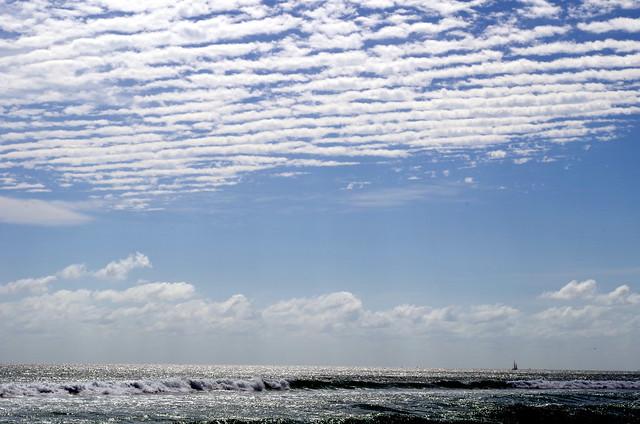 Sailboat under a Blue Sky