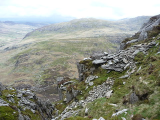 View from Tryfan - one of the less rocky sections!