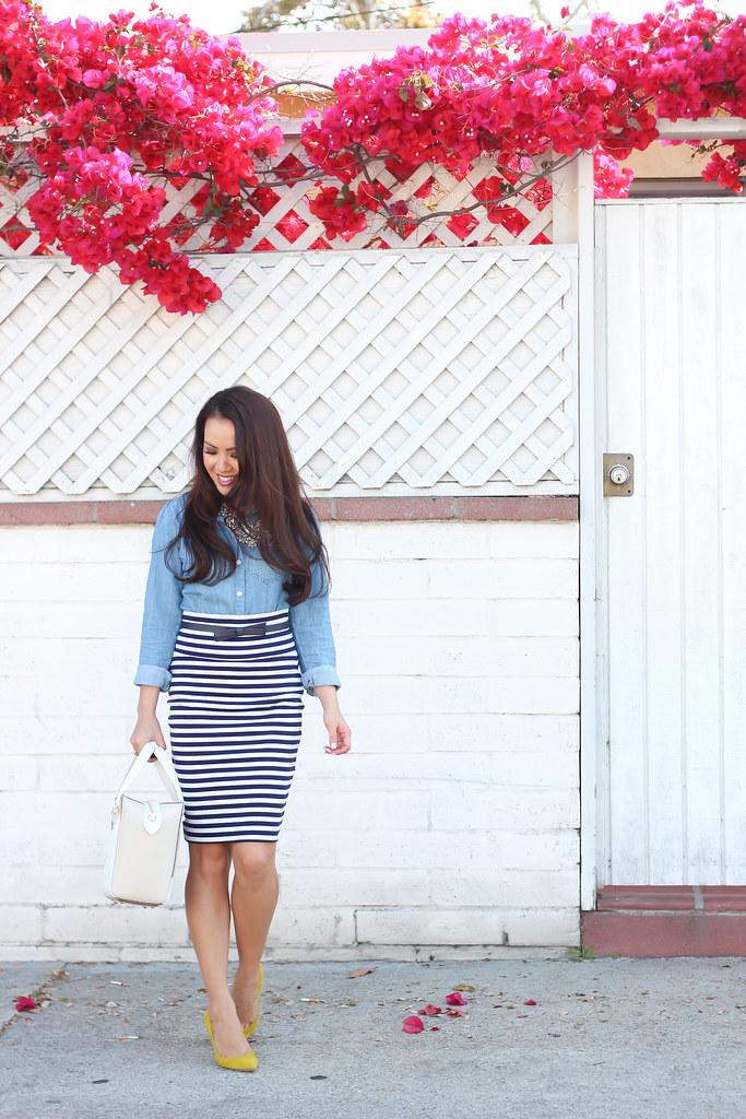 Chambray and Stripes