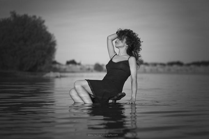 En el pantano ...