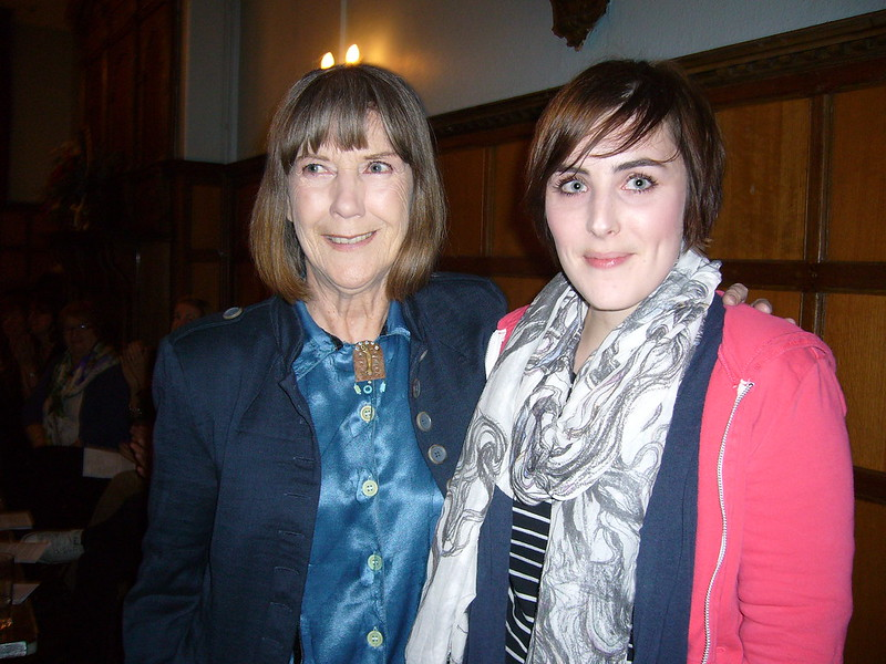 Beth Cunninghame Graham and Dame Eileen Atkins