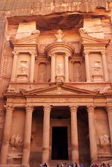The Treasury or Al Khazneh at Petra