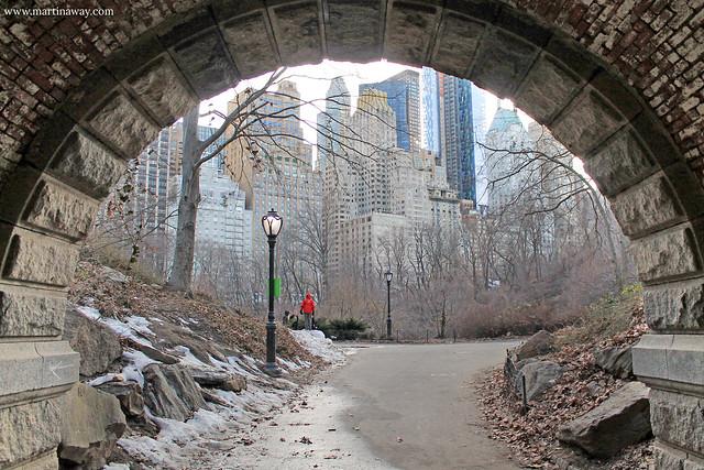 Uno degli archi di Central Park