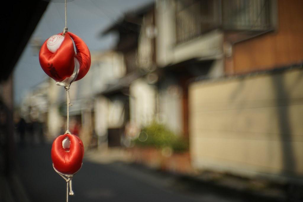 One scene in Naramachi town 2015.02 No.1.
