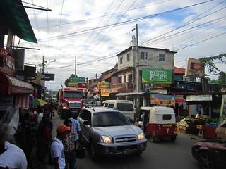 Rio Dulce traffic madness.  Guatemala.