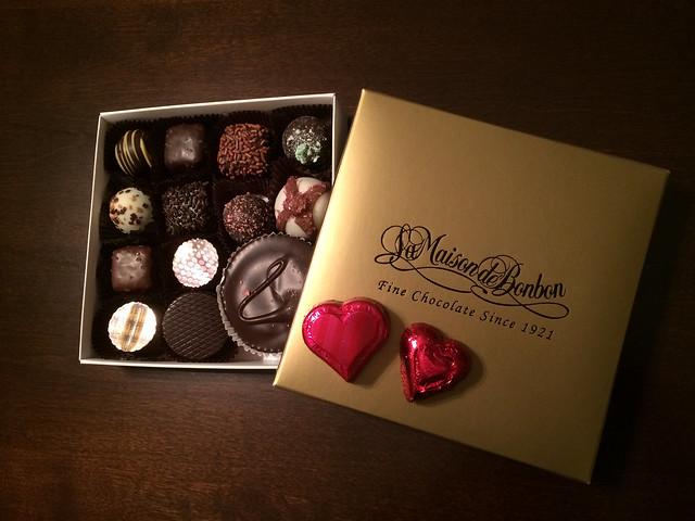 La Maison De Bonbon chocolates