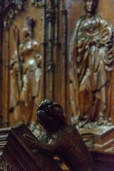 Catedral de Zamora. Detalle del Coro